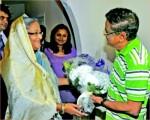 Humayun with Hasina